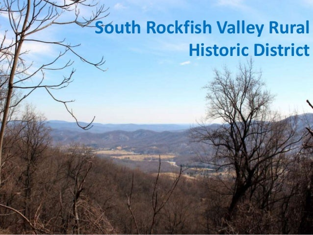 South Rockfish Valley Rural Historic District