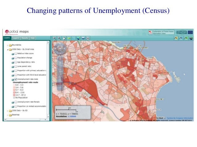 Changing patterns of Unemployment (Census)