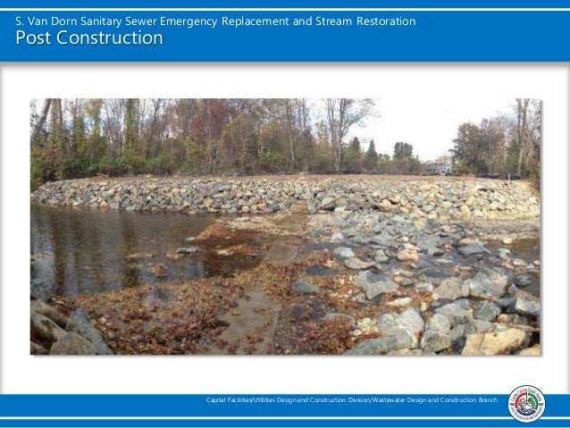 South County Sanitary Service : South van dorn sanitary sewer emergency replacement and
