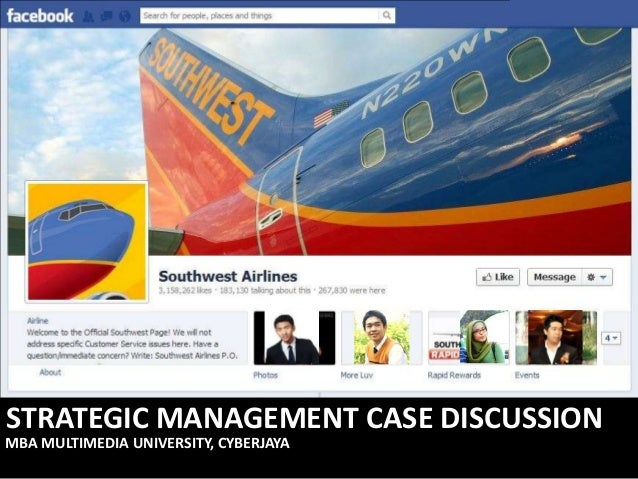 STRATEGIC MANAGEMENT CASE DISCUSSIONMBA MULTIMEDIA UNIVERSITY, CYBERJAYA