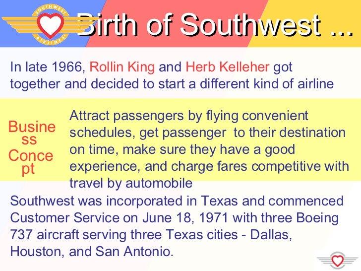 Southwest Airlines Slide 3