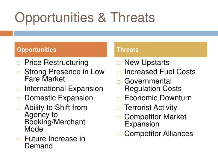 malaysia airlines external threat and opportunities The global full-service airline market to 2019:revenue,swot analysis,market trends,growth and opportunities report summary: - the top-three leading full service carriers in the us (united .