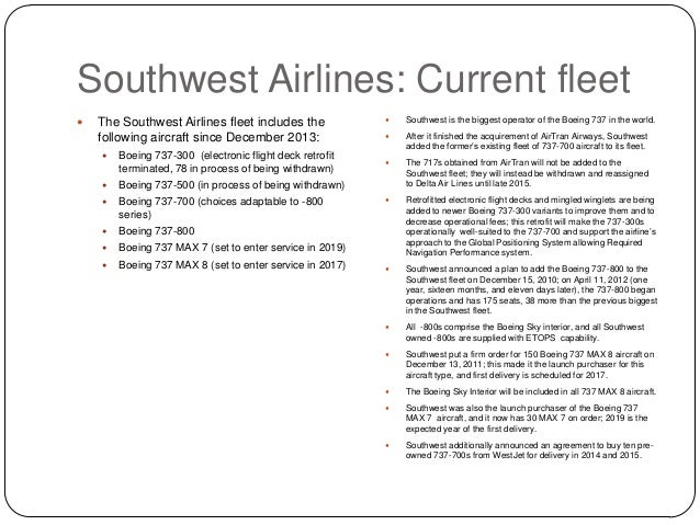 the genesis and history of the southwest airlines Southwest is the only major us airline to offer bags fly free® to everyone (first  and  history: southwest airlines was incorporated in texas and commenced.