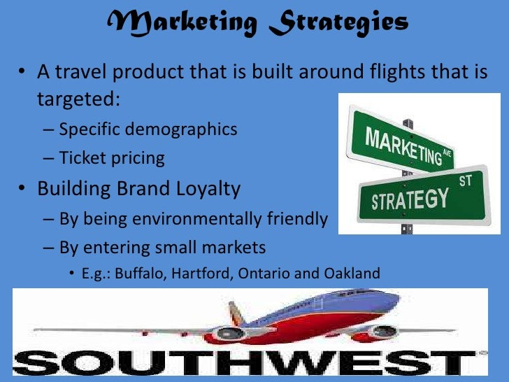 southwest marketing strategy
