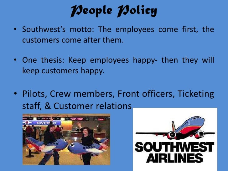 Thesis southwest airlines