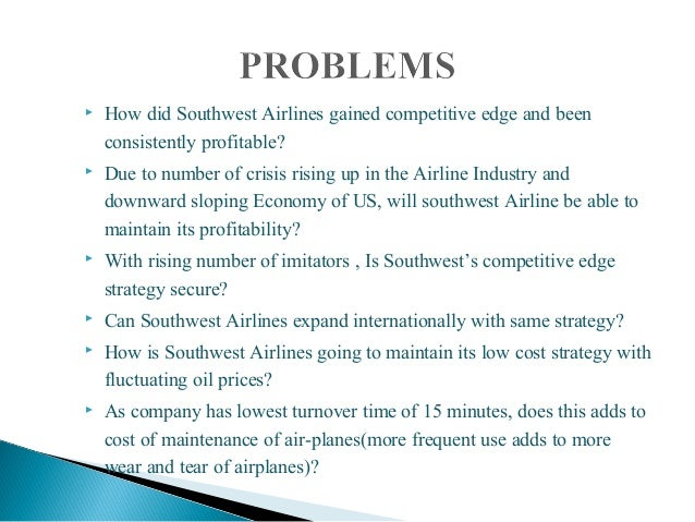 southwest airlines 2008 essay Free essays on southwest airlines in 2008 culture values and operating practices for students use our papers to help you with yours 1 - 30.