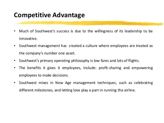 Leadership Style at Southwest Airlines