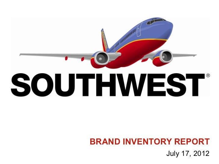 BRAND INVENTORY REPORT              July 17, 2012