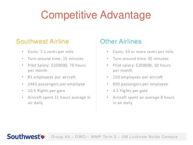 southwest airlines case study analysis Michele lynn october 12, 2008 marketing – resnik case study: southwest airlines air travel has its ups and down, as does basically any type of travel.