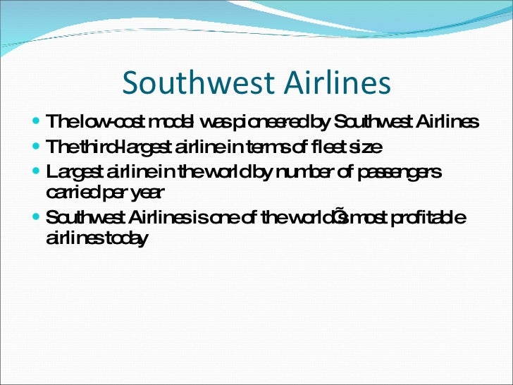 southwest airlines a cultural assessment Southwest airlines analysis discuss the corporate culture at southwest airlines and how it leverages its culture to achieve a competitive advantage.