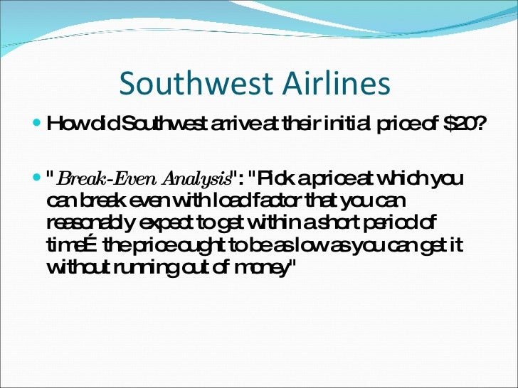The Rise of Southwest Airlines