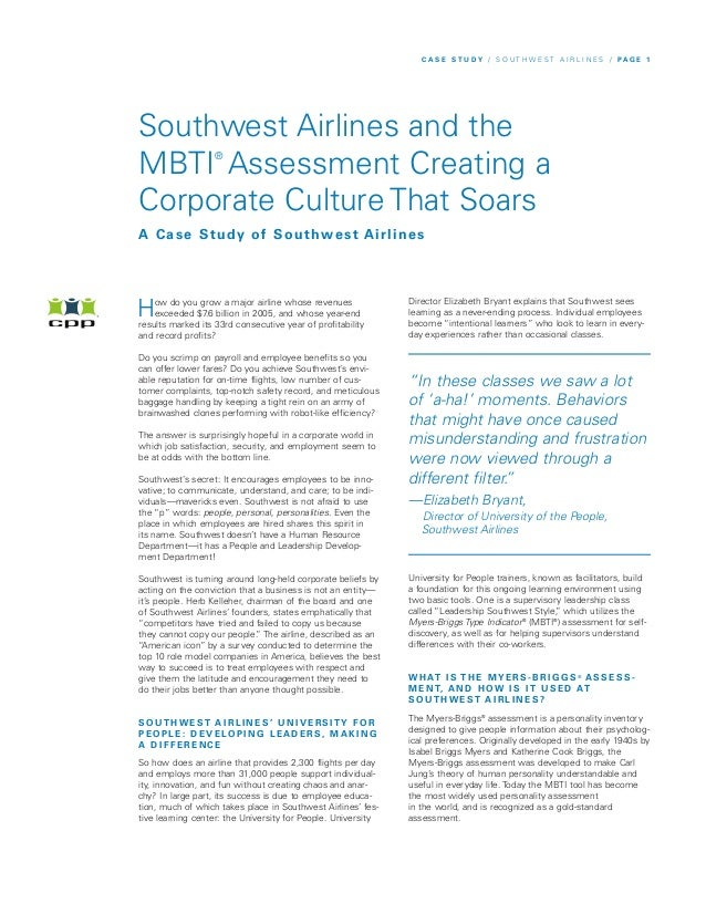 Southwest case study essays