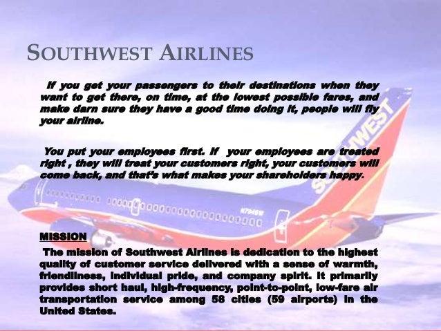 Southwest airline case