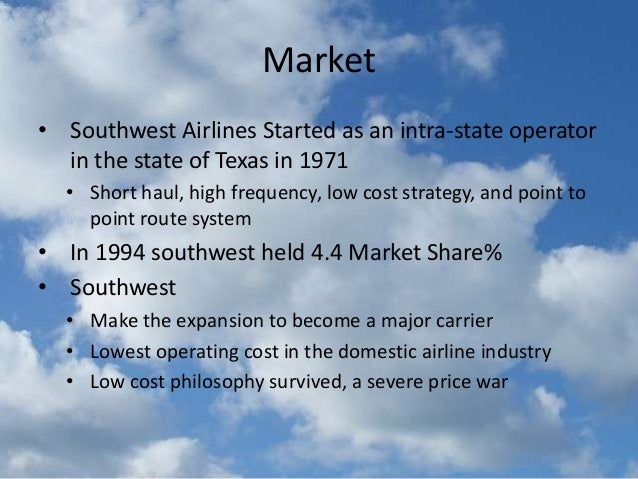 the success of the southwest airlines marketing strategy essay Operations strategy – southwest airlines overview to do whatever it takes to serve the customer and contribute to the overall success of the company your job.