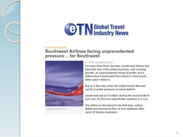 southwest airlines takes off with better supply chain management Supply chain search the insights  you are here insights by stanford business  the knowing-doing gap  organizations such as southwest airlines, aes.