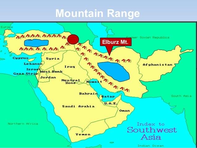 South West Asia Regional