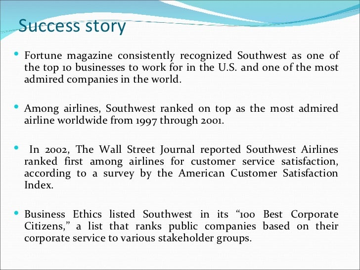 Southwest Airlines: In a Different World HBS Case Analysis