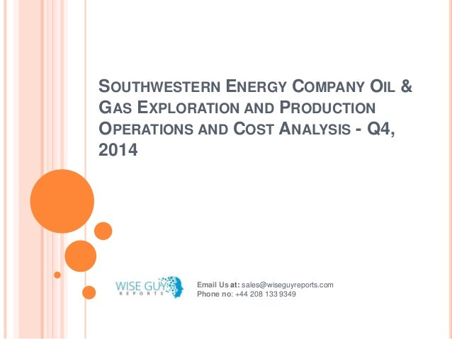Wells Operated by SWN Production Company, LLC