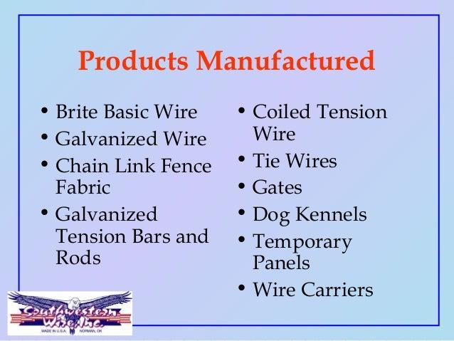 Southwestern Wire Inc 2015 Slide 2