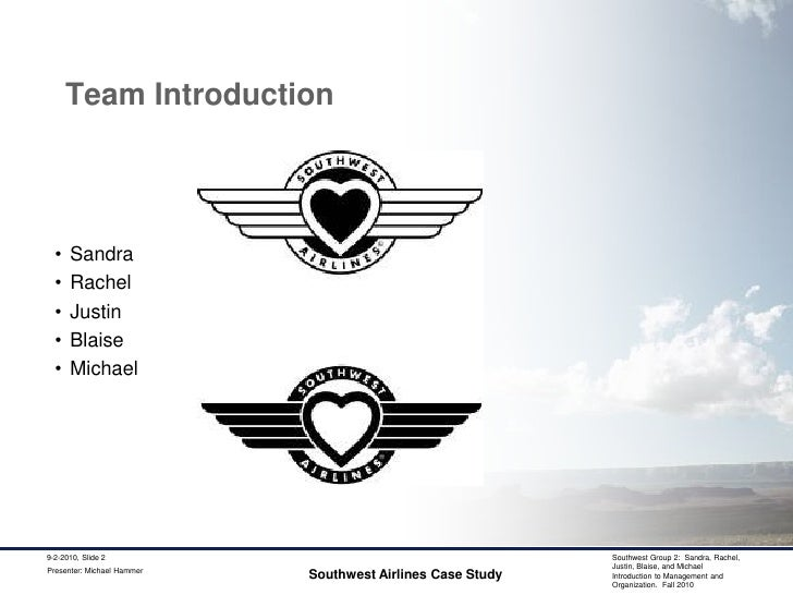 mgmt 3110 case southwest airlines Case 20 - southwest airlines (strategic management) uploaded by mariavcromero southwest airline case study uploaded by aliya shah southwest airlines case study uploaded by jayeshruc strategic audit southwest airlines uploaded by nashminhojatti southwest airlines case study uploaded by kelanfar.