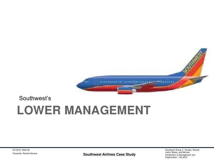 it assesment for southwest airlines Southwest airlines did not become one of america's most admired companies and a benchmark for customer service by resting on its laurels southwest refined its vision and purpose despite posting.