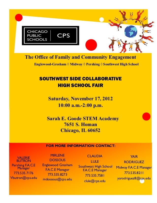 The Office of Family and Community Engagement               Englewood-Gresham ◊ Midway ◊ Pershing ◊ Southwest High School ...