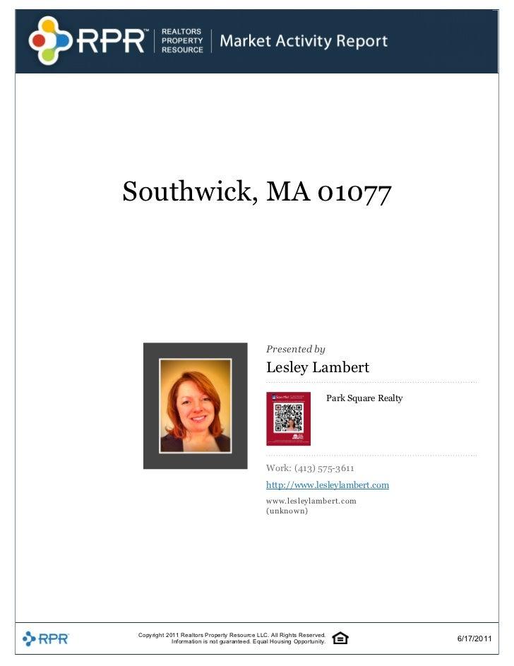 Southwick,MA01077                                                                                              Present...