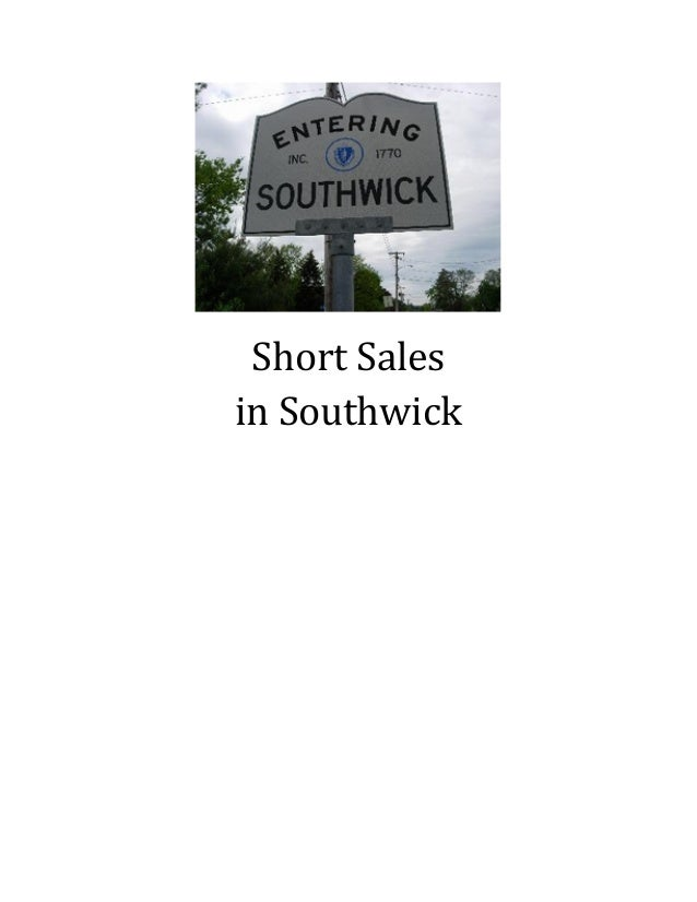 Short Salesin Southwick