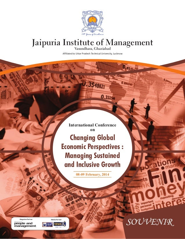 JAIPURIA  109 Years of Excellence  Jaipuria Institute of Management Vasundhara, Ghaziabad  Affiliated to Uttar Pradesh Tec...