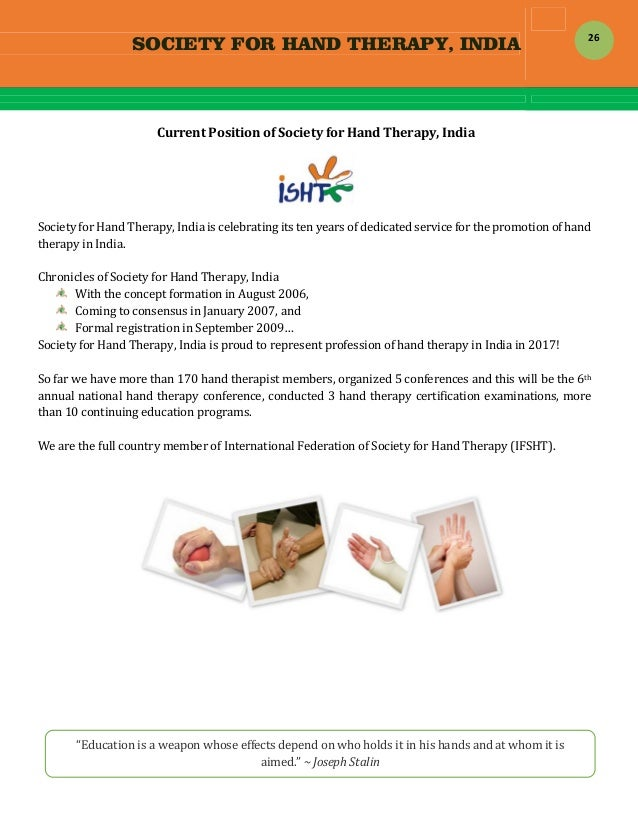 Hand Therapy Certification - Best Hand 2017