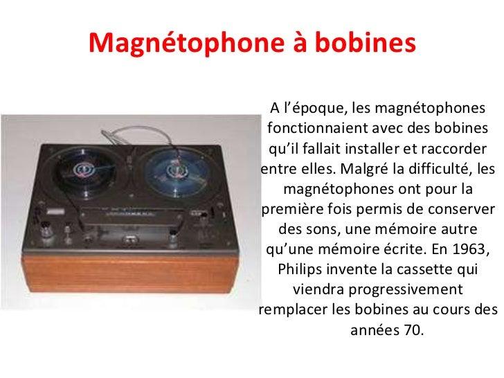 A l'époque, les magnétophones fonctionnaient avec des bobines qu'il fallait installer et raccorder entre elles. Malgré la ...