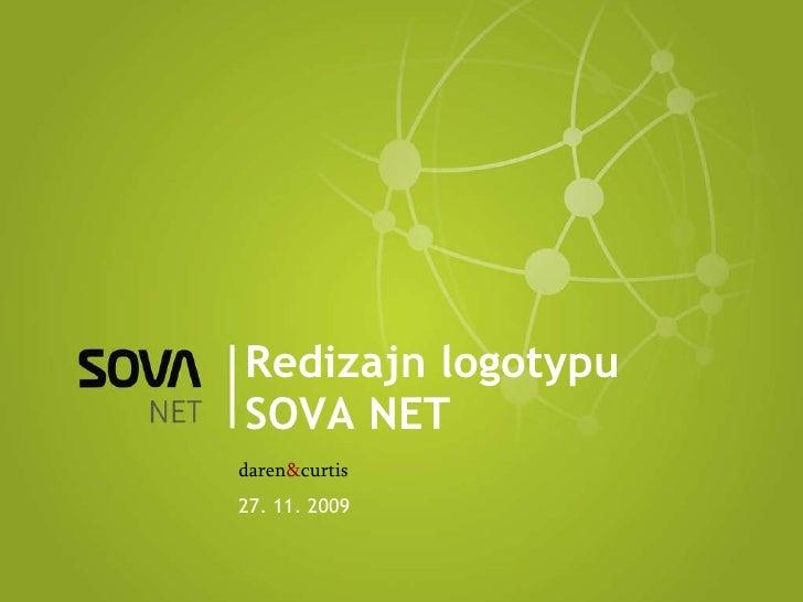 Redizajn logotypu SOVA NET daren & curtis 27. 11. 2009