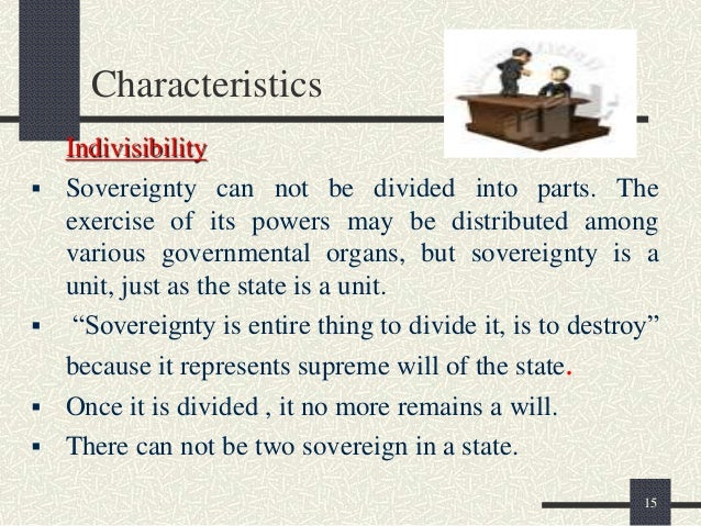 features of sovereignty