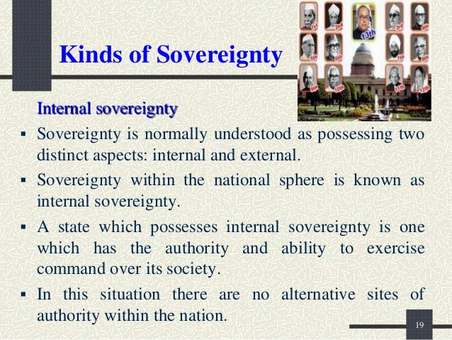 difference between internal and external sovereignty pdf