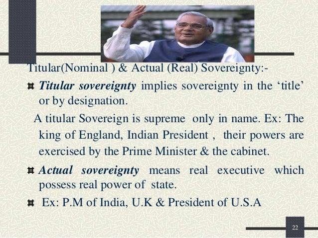 titular sovereignty