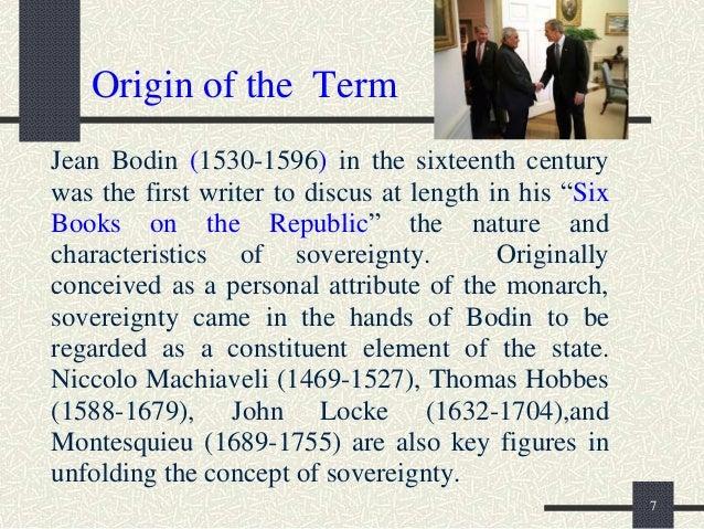 Jean Bodin (c. 1529—1596)