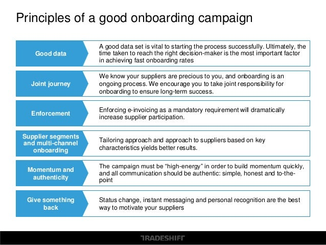 The Art of Supplier Onboarding