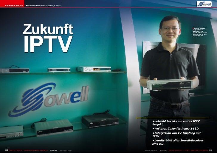 Firmen Report                       Receiver Hersteller Sowell, China                               Zukunft               ...