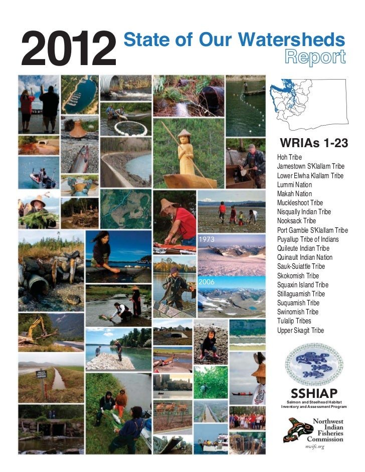 2012   State of Our Watersheds                       WRIAs 1-23                      Hoh Tribe                      Jamest...