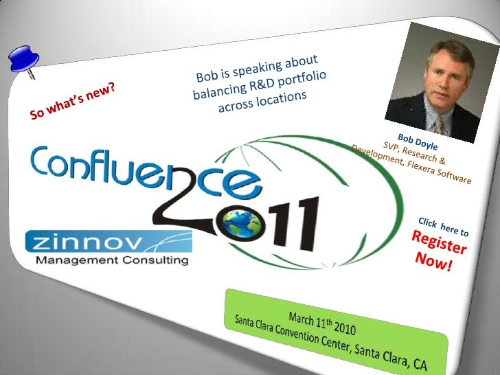 Bob is speaking about balancing R&D portfolio across locations<br />So what's new?<br />Bob Doyle<br />SVP, Research & Dev...