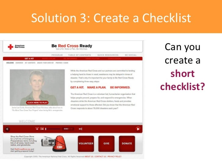 Solution 3: Create a Checklist                         Can you                         create a                          s...