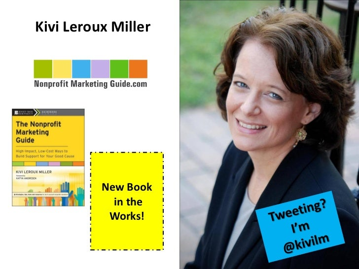 Kivi Leroux Miller          New Book            in the           Works!