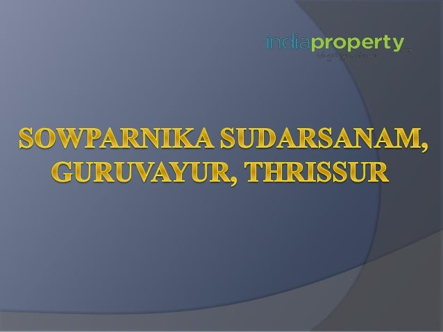 About Project Sowparnika Sudarsanam is the right place to invest for those of you who are looking for an apartment in a di...