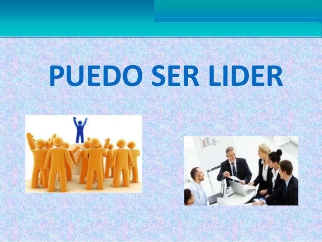 PUEDO SER LIDER