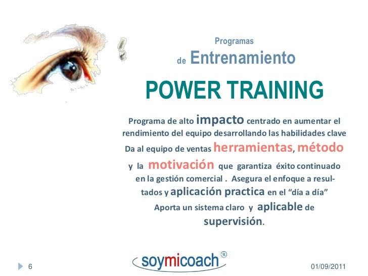 Impacto Training Calendario.Soymicoach Calendario Cursos