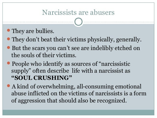 Are you a narcissist