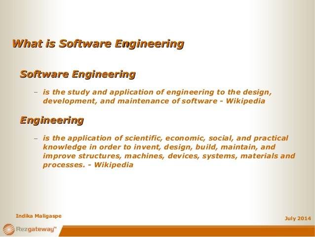So you want to be a Software Engineer