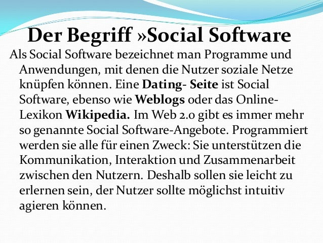 Dating seiten wikipedia