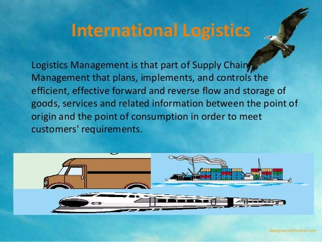 global supply chain managment