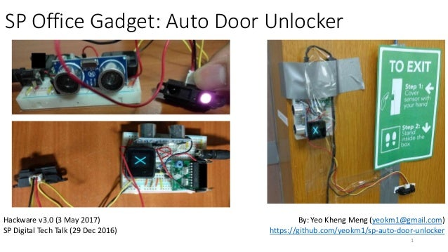 SP Office Gadget Auto Door Unlocker Hackware v3.0 (3 May 2017) ...  sc 1 st  SlideShare & SP Auto Door Unlocker